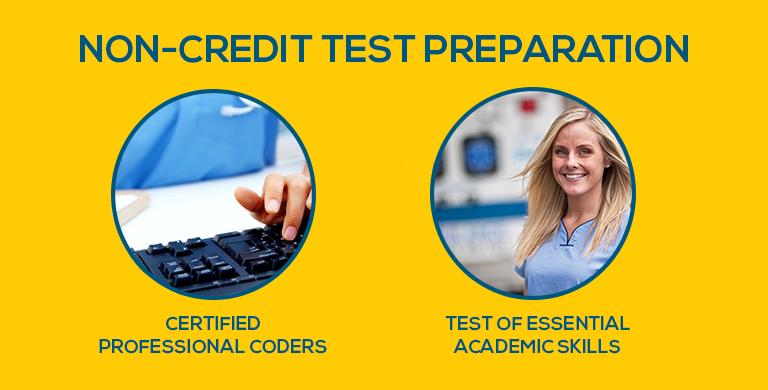Non-Credit Test Preparation Services