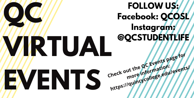 Quincy College Virtual Events