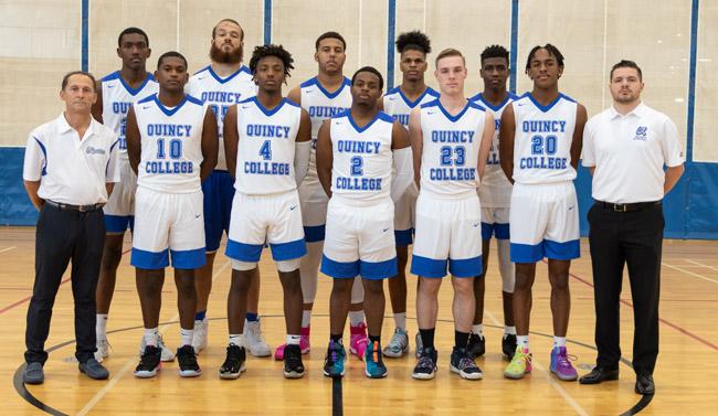 Quincy College Men's Basketball Team 19-20