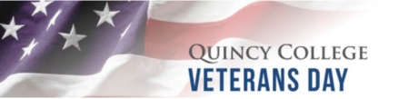 veterans day at Quincy College