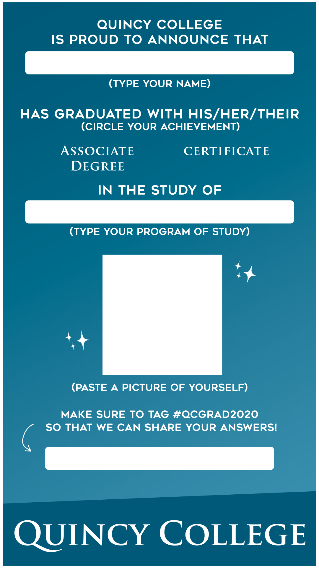 Instagram Graduation Template