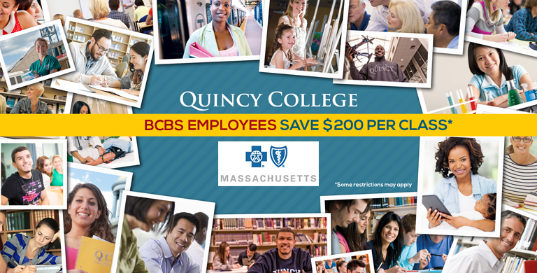 Quincy College & Blue Cross Blue Shield of Mass